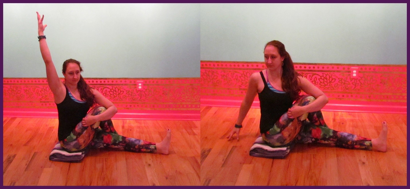 Marichyasana I - Seated Spinal Twist